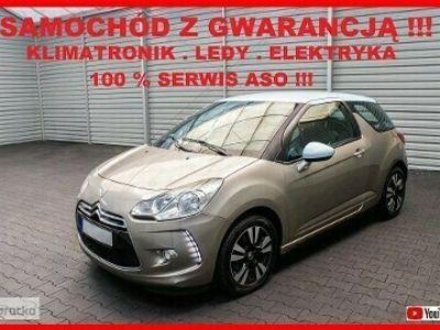 używany Citroën DS3 CHIC + Klimatronik + LED + Elektryka + 100% Serwis !!!