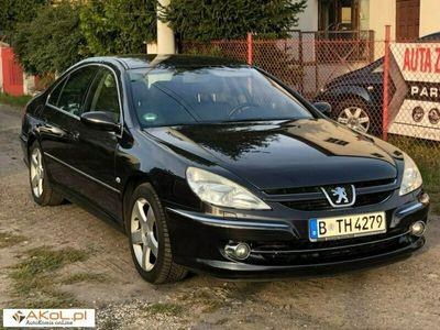 używany Peugeot 607 2.7dm 205KM 2004r. 161 000km