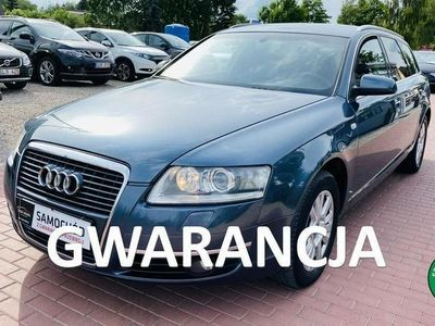 używany Audi A6 Skóra, Gwarancja, Zarejestrowany C6 (2004-2011)