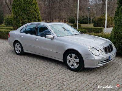używany Mercedes E320 W211benzyna 224KM, AVANTGARDE, 1WŁ. JAK NOWY