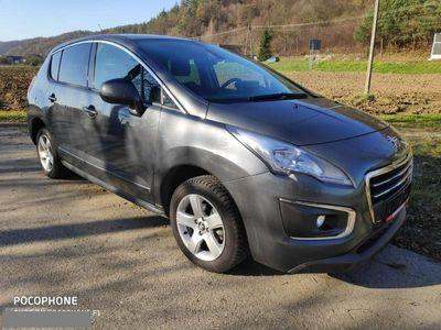 używany Peugeot 3008 1.6dm 120KM 2015r. 78 900km