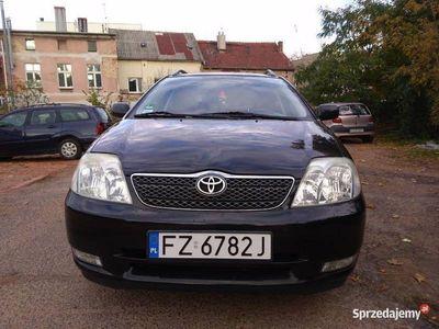używany Toyota Corolla E12 kombi 2003 r. 1.6 benzyna 110KM
