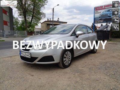 używany Seat Ibiza 1.2dm3 69KM 2013r. 137 112km 1.2 Klima El szyby KS Serw Stan BDB Bezwypadk Opłacony