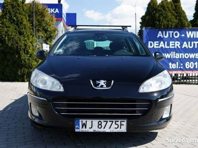 używany Peugeot 407 SW 2dm 140KM 2009r. 292 000km