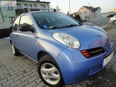używany Nissan Micra 1.5dm3 65KM 2003r. 110 000km RATY BEZ BANKU SUPER DIESELEK ABS