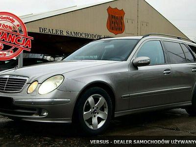 używany Mercedes E280 3dm 231KM 2006r. 280 000km