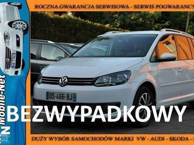 używany VW Touran 1.6dm 105KM 2015r. 148 000km