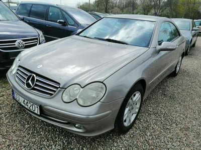 używany Mercedes CLK200 kompresor + GAZ
