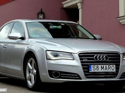 używany Audi A8 III (D4) Noktowizor+ACC+Radar+Kamera+DVD+Podwójne Szyby+Full Opcja+Gwarancja