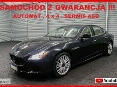 używany Maserati Quattroporte VI S Q4 + 100% Serwis ASO + AUTOMAT + Navigacja + Skóra !!