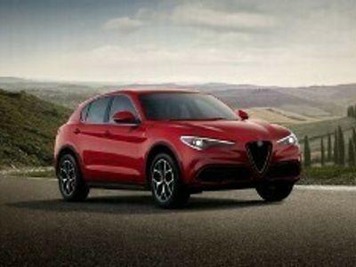 używany Alfa Romeo Stelvio rabat: 15% (36 400 zł) beżowe wnętrze