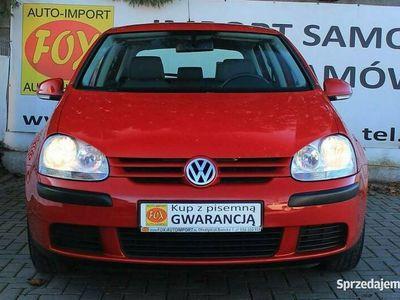 używany VW Golf 1.4MPI 75KM klimatyzacja, 6xAirBag, hak, sprowadzony, GWARANCJA