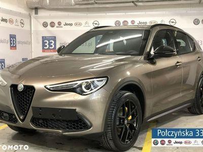 używany Alfa Romeo Stelvio 2dm3 280KM 2019r. 2km Super 2.0 280KM AT8 | Brązowy BASALTO / Brązowa skóra | Dużo pakietów