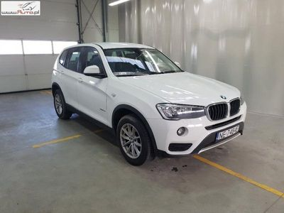 używany BMW X3 X3 2dm3 150KM 2017r. 39 470km X 3 [F25]sDrive18d Advantage aut
