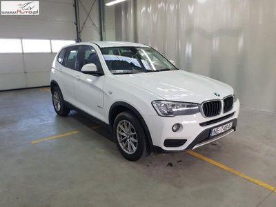 used BMW X3 X3 2dm3 150KM 2017r. 39 470km X 3 [F25]sDrive18d Advantage aut