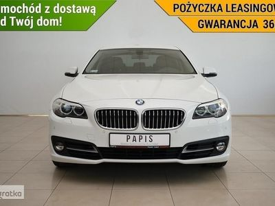 używany BMW 520 SERIA 51Właściciel ASO Bluetooth Tempomat Skóra Automat PAPIS