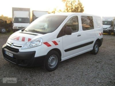 używany Citroën Jumpy II przeszklony, 6 osobowy, klimatyzacja!