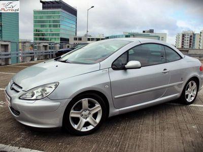 używany Peugeot 307 CC 2.0dm3 177KM 2004r. 165 000km 2.0 Benzyna 177KM!! Manual*Skóra*Klima*Alumy*Szwajcar!