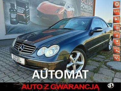 używany Mercedes CLK270 Piękny z Niemiec tylko 220tkm 2.7Cdi Avantgarde Automat W209 (2002-)