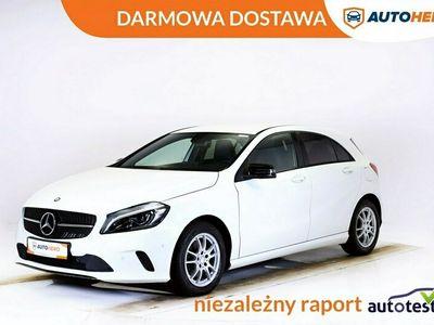 używany Mercedes A180 DARMOWA DOSTAWA, Navi, Grzane fotel, PDC, klima, półskóra, W176 (2012-)