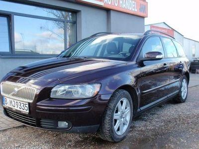 używany Volvo V50 2.0dm3 136KM 2007r. 191 432km ABS automatyczna klima.