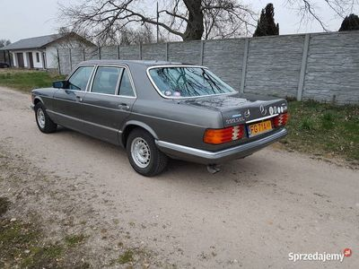 używany Mercedes 500 W126SEL ZABYTEK