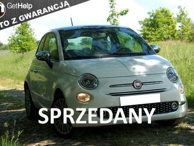 używany Fiat 500 1,2 benzynka, jak nowa tylko 52000km przebieg