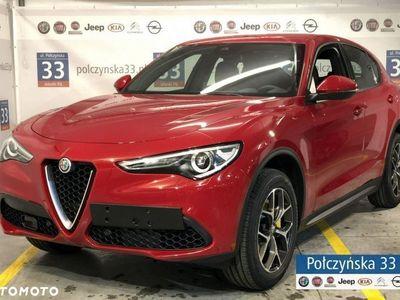 używany Alfa Romeo Stelvio 2dm3 280KM 2019r. 2km 2.0 280KM Executive | Czerwony Rosso Alfa / Brązowa skóra | 2019