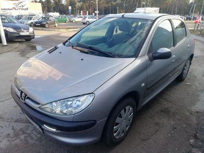 używany Peugeot 205 206 1.4dm3 75KM 2004r.000km ABS ręczna klima.