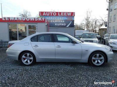 używany BMW 520 SERIA 5 D, Skóry, Nawigacja, 6 Biegów