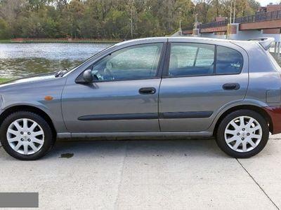 używany Nissan Almera Salon PL 1,8 2003 r. 1.7 Salon PL 1,8 2003 r. ręczna klima.