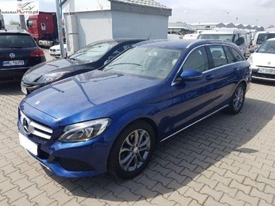 używany Mercedes C200 klasa C 1.6dm3 136KM 2016r. 87 921kmd, Automat, FV 23%, Gwarancja!!