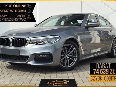 używany BMW 530 SERIA 5 VII (F90) 530 2.0 e (252KM) | M SPORT | Bezpieczny zakup auta z domu!