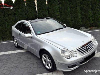 używany Mercedes C230 V6 204KM Panoramiczny dach Serwisowany ASO MB