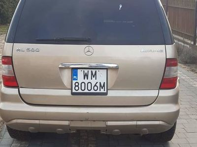używany Mercedes ML500 amg