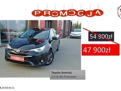 używany Toyota Avensis III 2.0 D-4D Premium, Siedlce