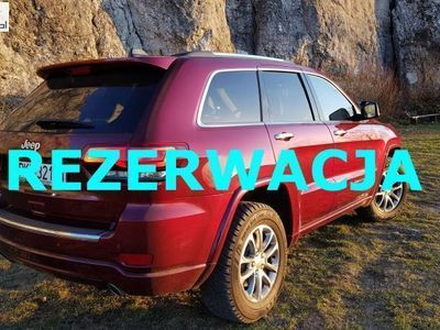 brugt Jeep Grand Cherokee 3dm3 250KM 2016r. 39 000km Diesel V6 3.0 250KM 4x4. Limited. Kamera, duży ekran, komfort dostęp.