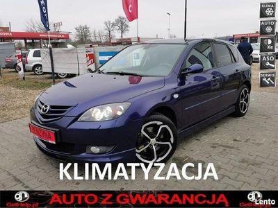 używany Mazda 3 Sport 2.0 16v 150PS Ksenon Alu 17 piękna z Niemiec lift I (2003-2009)