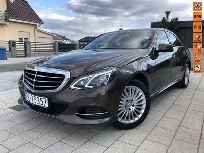 używany Mercedes E220 2.1dm 170KM 2014r. 140 000km