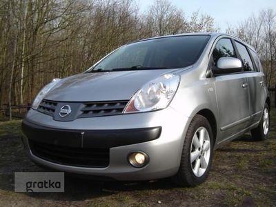 używany Nissan Note E11 KLIMATRONIK Serwis+tuv z wydrukiem, Puszczykowo