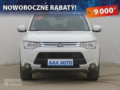 używany Mitsubishi Outlander III Salon Polska, Serwis ASO, 4X4, 7 miejsc, VAT 23%, Skóra,, Piaseczno