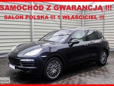 używany Porsche Cayenne II 4 x 4 + AUTOMAT + Salon PL + 1 Wł + 100% Serwis !!!, Leszno