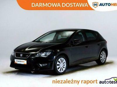 używany Seat Leon ST DARMOWA DOSTAWA, Hi Serwis, Klima auto, LED, Grzane fotele, FR III (2012-)