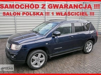 gebraucht Jeep Compass II LIMITED + Salon PL + 1 Wł + Serwis -a + GAZ Sekwencja !!!