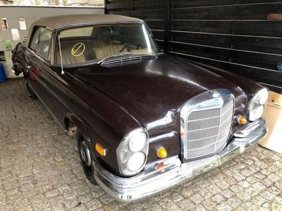 używany Mercedes W111 250SE CABRIO 1967, Poznań