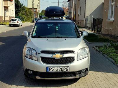 używany Chevrolet Orlando - Bezwypadkowy, kupiony u autoryzowanego dealera w Polsce, 7 osobowy