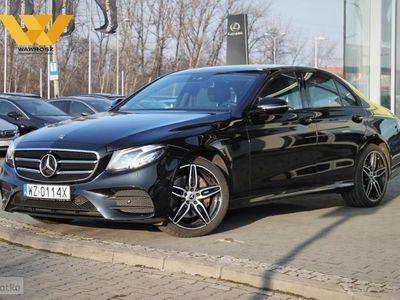 używany Mercedes E220 Klasa E W213 220 D 4MATIC195KM, 4-Matic, 9G-Tronic, pakiet AMG, Premium,