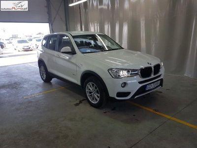 used BMW X3 X3 2dm3 150KM 2017r. 39 979kmsDrive18d xLine aut