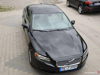 używany Volvo S80 2.5T 220KM Skóry Czarne Opłacone Polecam