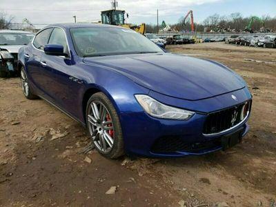 używany Maserati Ghibli 3dm 350KM 2015r. 74 000km